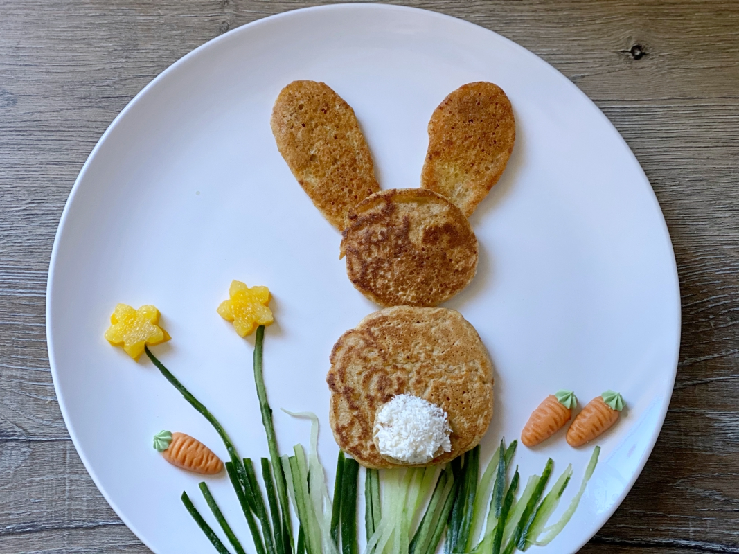 Hasen Pancakes Kinder Snacks